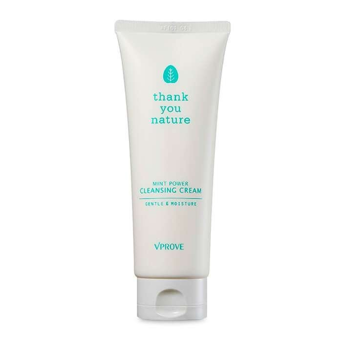 Очищающий крем Vprove Thank You Nature Mint Power Cleansing Cream Gentle & Moisture