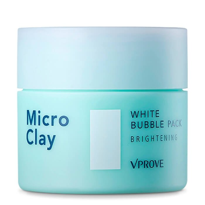 Пенная маска Vprove Micro Clay White Bubble Pack Brightening