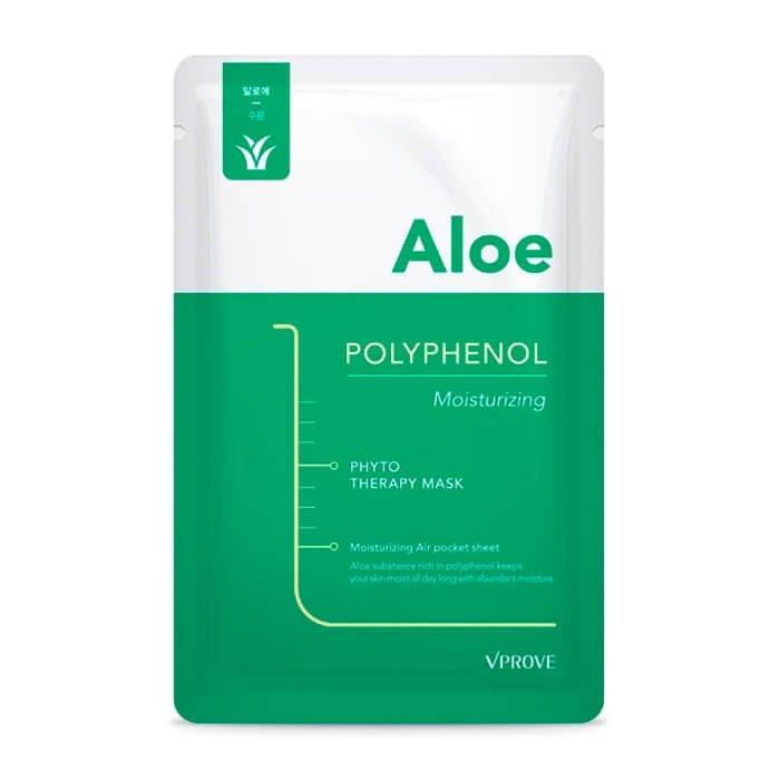 Тканевая маска Vprove Phyto Therapy Mask Sheet Aloe Polyphenol Moisturizing
