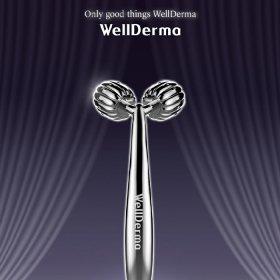 Массажер для лица WellDerma Face Lifting Roller Dark Silver
