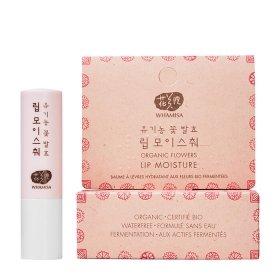 Бальзам для губ Whamisa Organic Flowers Lip Moisture