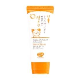 Детский солнцезащитный крем Whamisa Organic Carrot Baby & Kids Sun Cream (SPF 14)