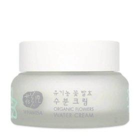 Крем для лица Whamisa Organic Flowers Water Cream Natto Gum (новый дизайн)