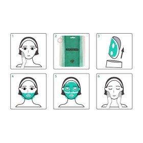 Маска из водорослей Whamisa Organic Real Kelp Sheet Facial Mask Pack
