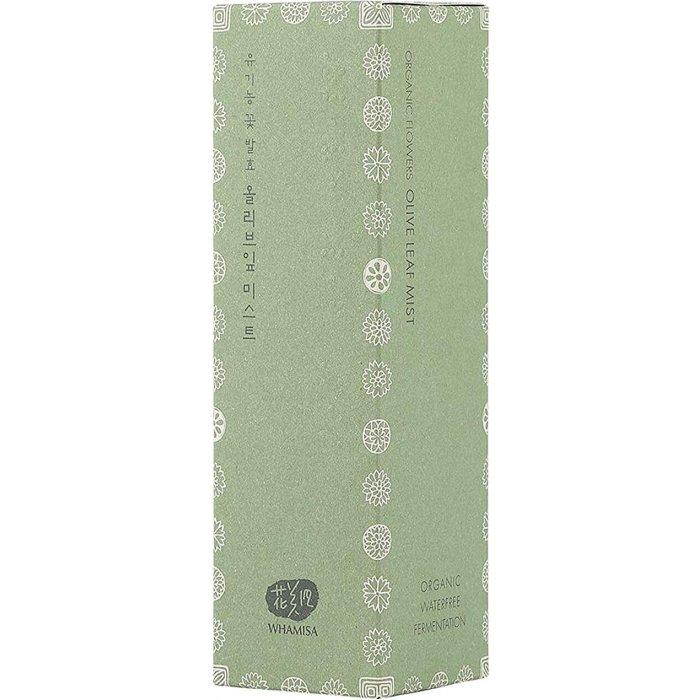 Спрей для лица Whamisa Organic Flowers Olive Leaf Mist (новый дизайн)