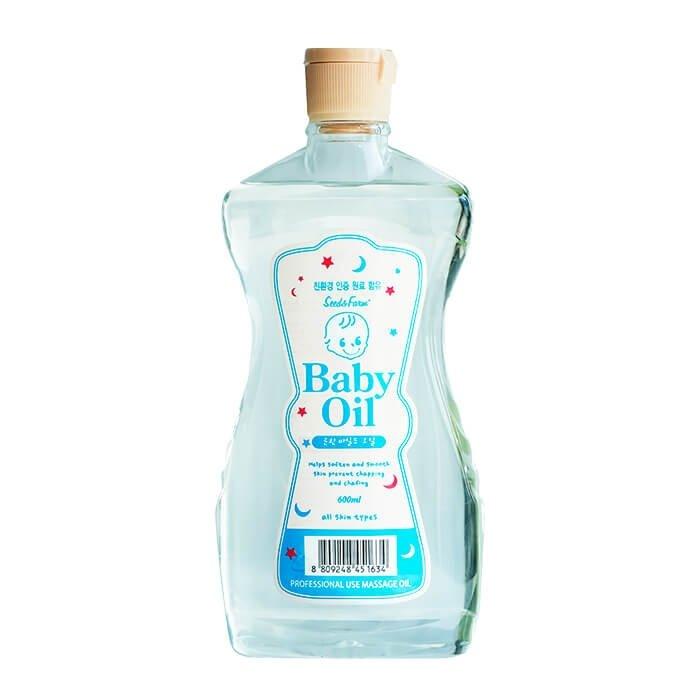 Детское массажное масло White Organia Seed & Farm Aroma Baby Oil