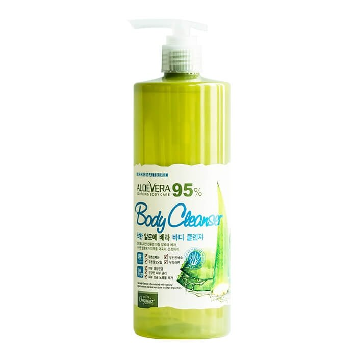 Очищающий гель White Organia Aloe Vera 95% Soothing Body Cleanser