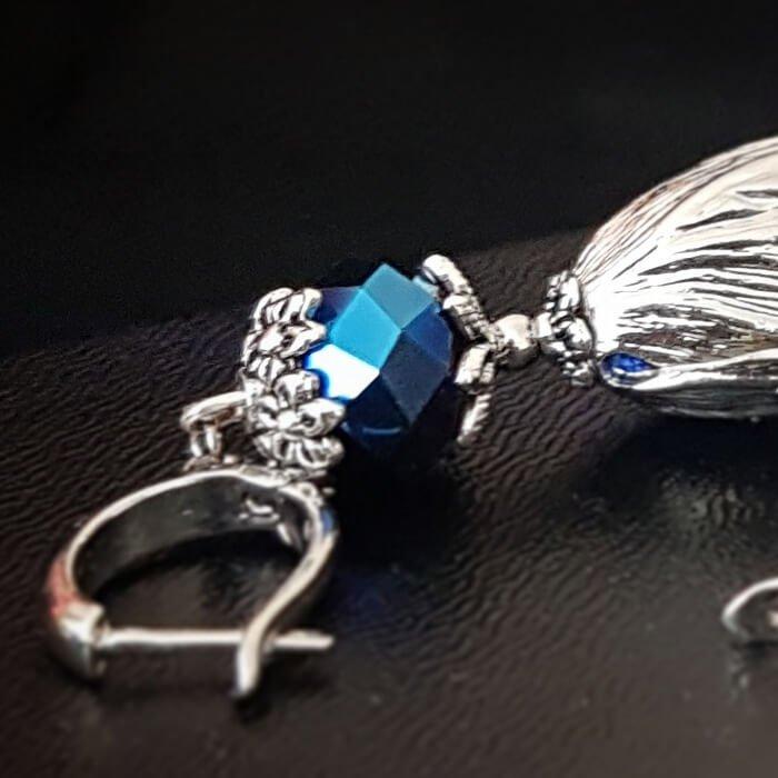 Серьги-кисти Wizard Brush - Electro Blue