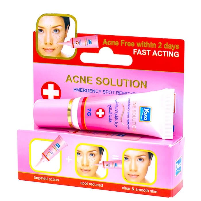 Крем против акне YOKO Acne Solution Emergency Spot Remover