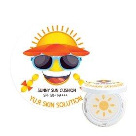 Солнцезащитный кушон для лица Yu.r Sunny Sun Cushion