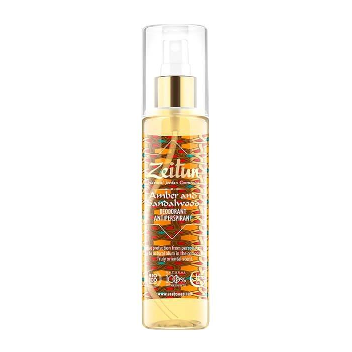 Дезодорант Zeitun Amber & Sandalwood Deodorant Antiperspirant