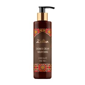 Крем для душа Zeitun Chocolate and Milk Nourishing Shower Cream