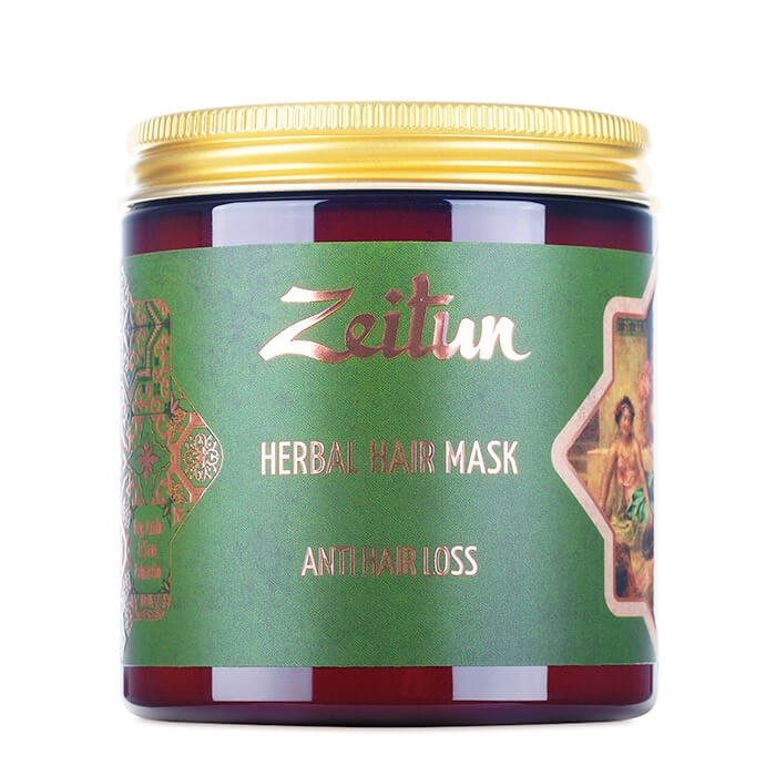 Маска для волос Zeitun Herbal Hair Mask Anti Hair Loss