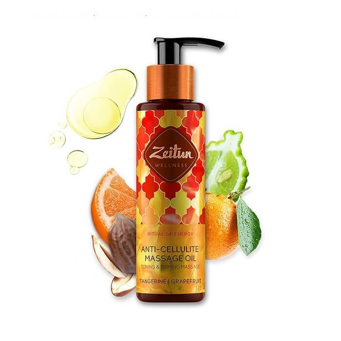 Масло массажное Zeitun Ritual of Energy Anti-Cellulite Massage Oil