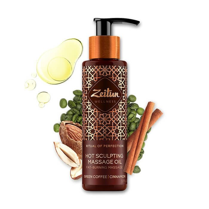 Масло массажное Zeitun Ritual of Perfection Hot Sculpting Massage Oil