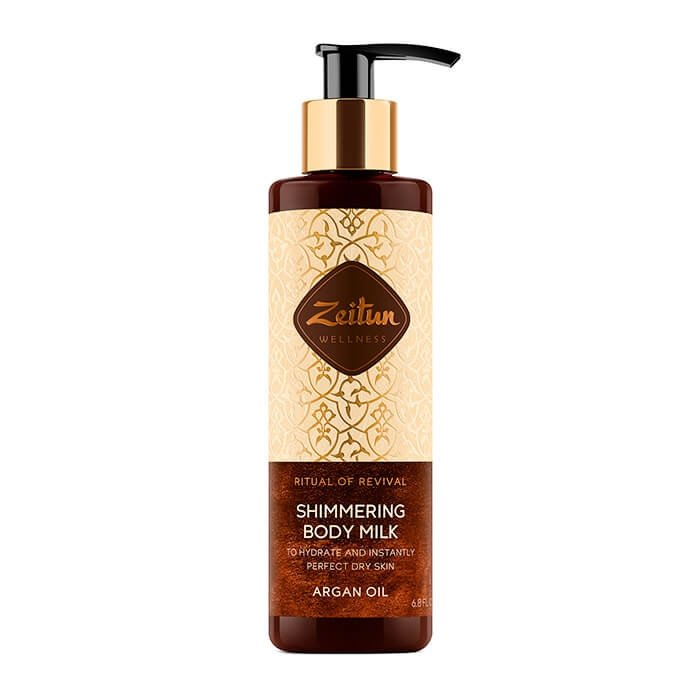 Молочко для тела Zeitun Ritual Of Revival Shimmering Body Milk - Argan Oil