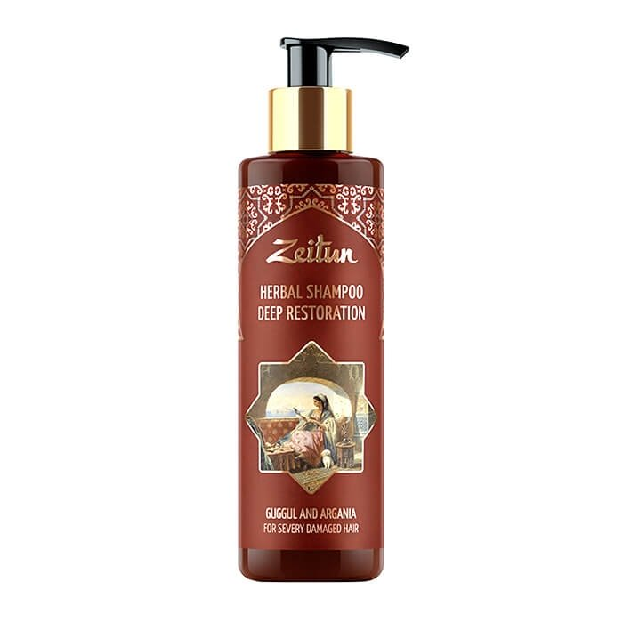 Шампунь для волос Zeitun Herbal Shampoo Deep Restoration (200 мл)