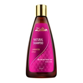 Шампунь для волос Zeitun Natural Shampoo Lamination Effect