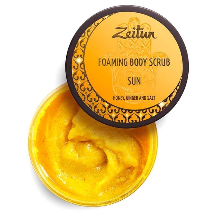 Скраб для тела Zeitun Foaming Bosy Scrub Sun