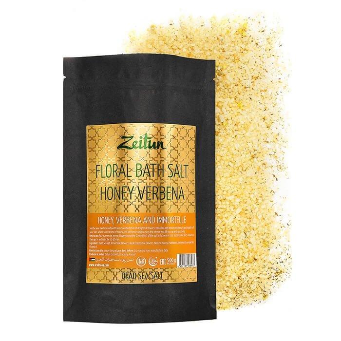 Соль для ванны Zeitun Floral Bath Salt Honey Verbena