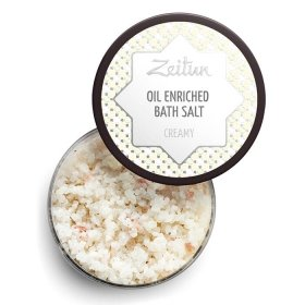 Соль для ванны Zeitun Oil Enriched Bath Salt Creamy