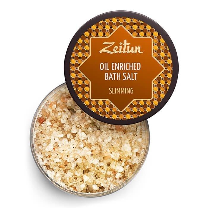 Соль для ванны Zeitun Oil Enriched Bath Salt Slimming