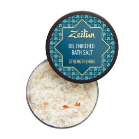 Соль для ванны Zeitun Strengthening Oil Enriched Bath Salt