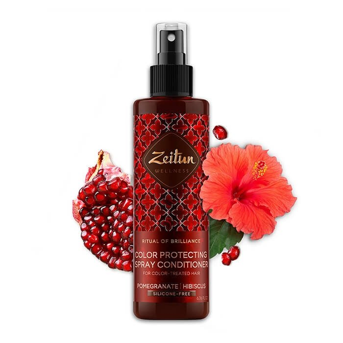 Спрей-кондиционер для волос Zeitun Ritual of Brilliance Color Protecting Spray Conditioner