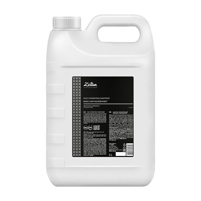 Шампунь для волос Zeitun Professional Daily Hydrating Shampoo (5 л)