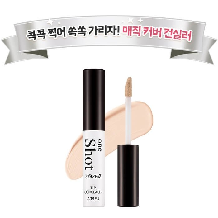 Консилер для лица A'Pieu One Shot Cover Tip Concealer