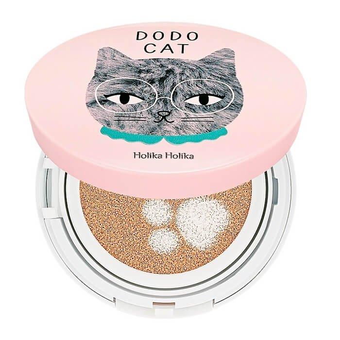 Кушон для лица Holika Holika Face 2 Change DODO CAT Glow Cushion BB - DODO's Rest