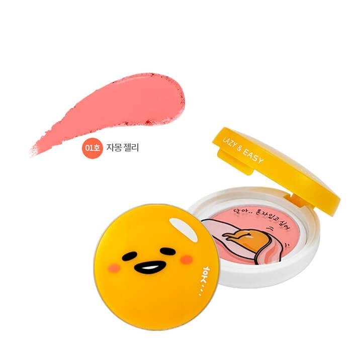 Румяна для лица Holika Holika Gudetama Lazy & Easy Jelly Dough Blusher