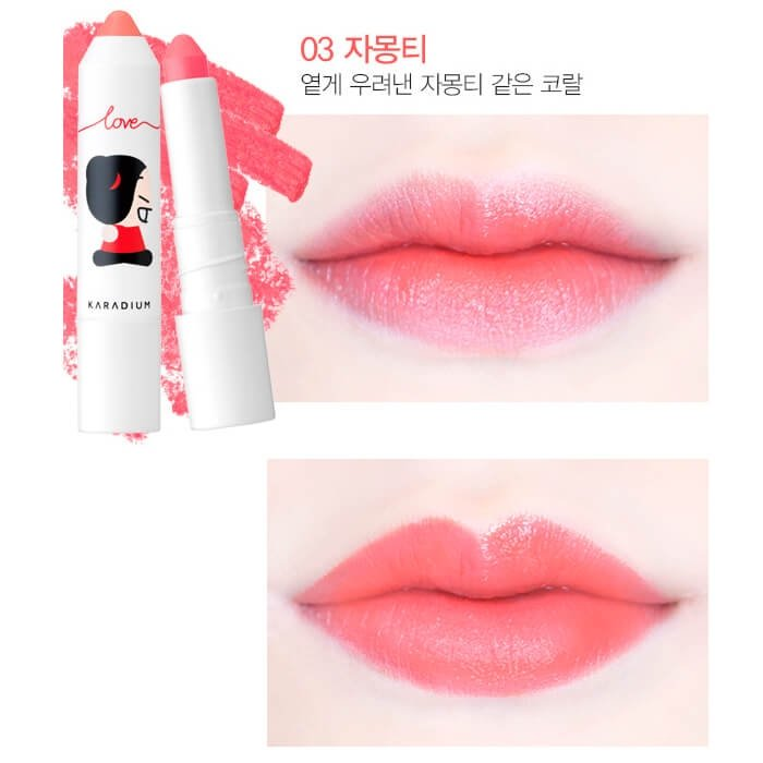 Тинт для губ Karadium Pucca Melting Crayon Tint Stick