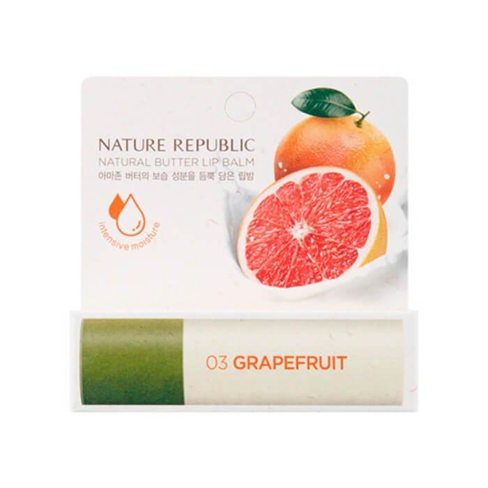 Бальзам для губ Nature Republic Natural Butter Lip Balm