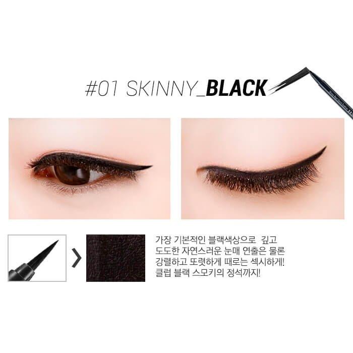 Подводка для глаз Secret Key Skinny Real Quick Eye Liner