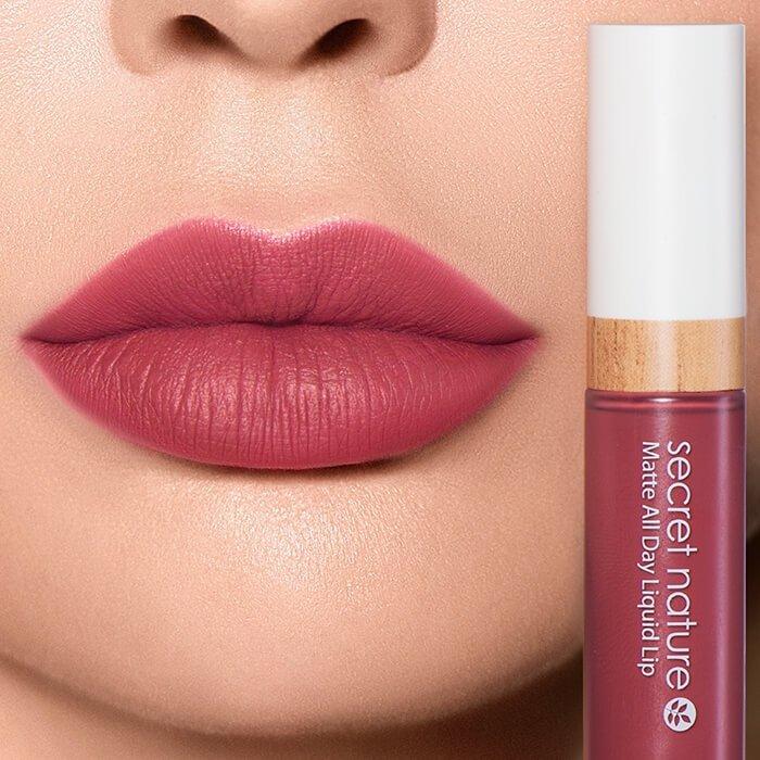 Помада для губ Secret Nature Matte All Day Liquid Lip