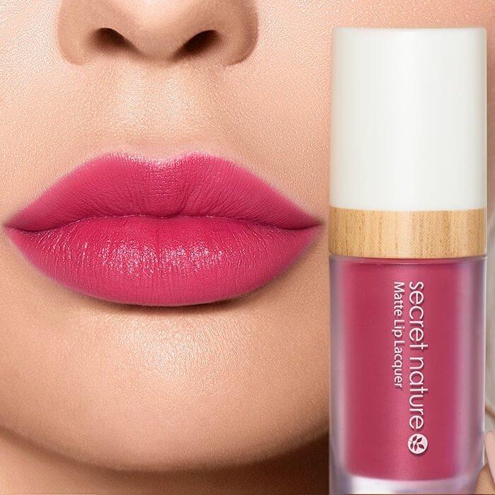 Помада для губ Secret Nature Matte Lip Lacquer