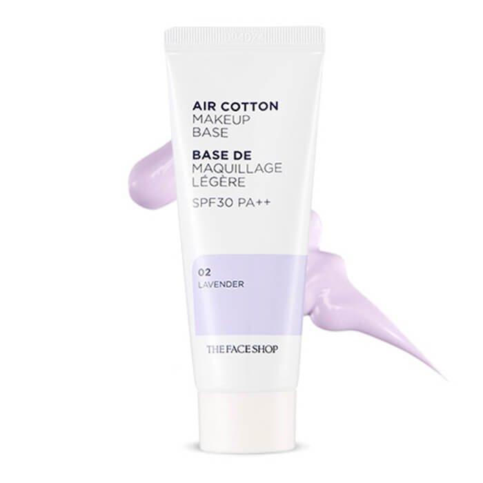 База под макияж The Face Shop Air Cotton Make Up Base
