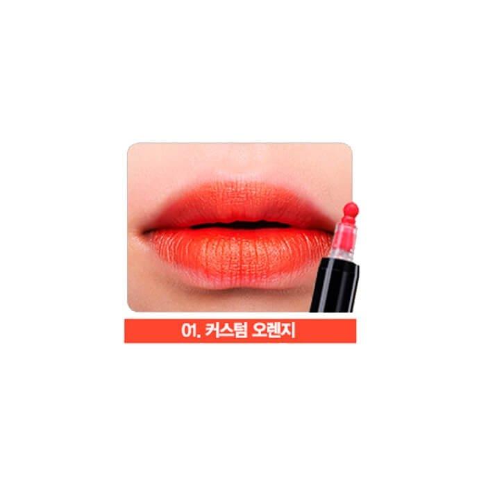 Тинт-маркер для губ The Saem Eco Soul Henna Marker Tint