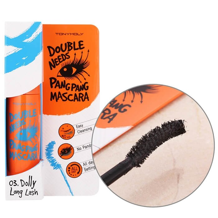Тушь для ресниц Tony Moly Double Needs Pang Pang Mascara