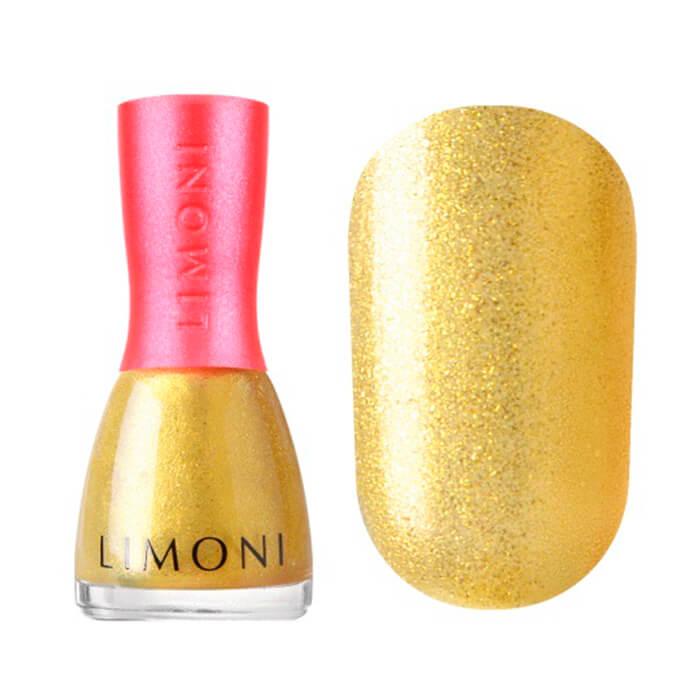 Купить Лак для ногтей Limoni Bambini #2 The Golden Bridle | Золотая уздечка, Быстросохнущий детский лак для ногтей смывающийся водой, Южная Корея