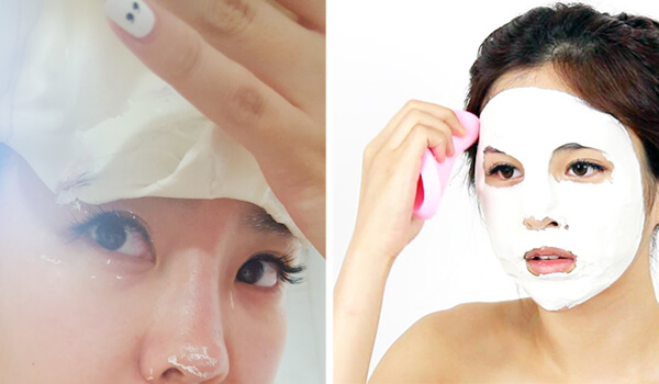Эффект от альгинатной маски