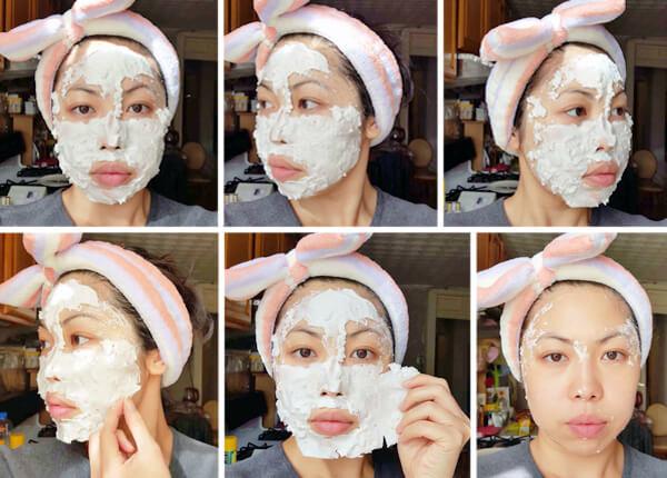 альгинатная маска эффект