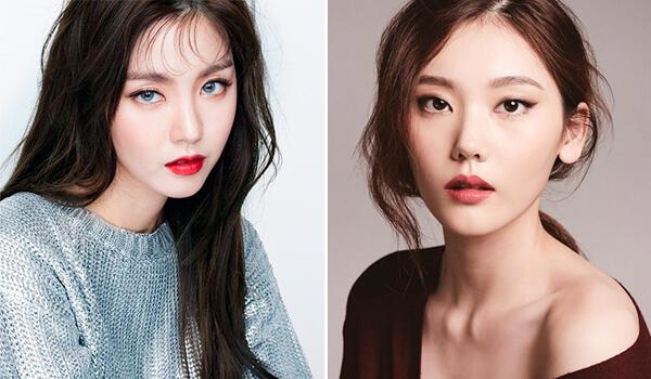 макияж бровей в Корее 2018