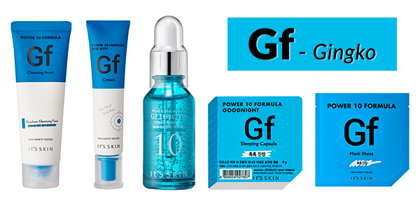it's skin power 10 gf