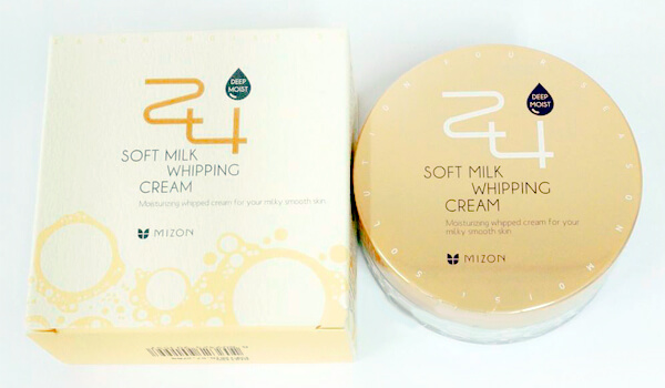 Mizon 24 Soft Milk Whipping Cream