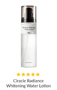 Ciracle Radiance Whitening Water Lotion