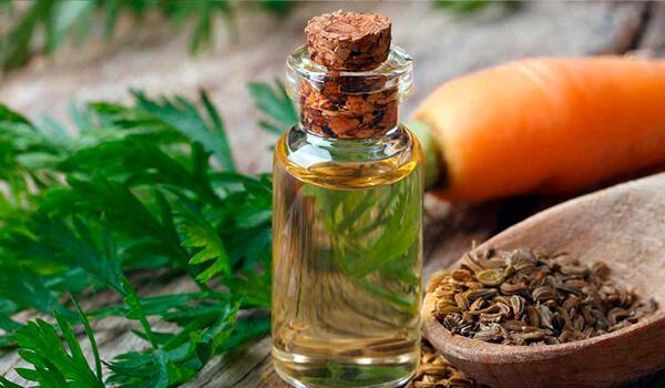 Морковное масло для кожи