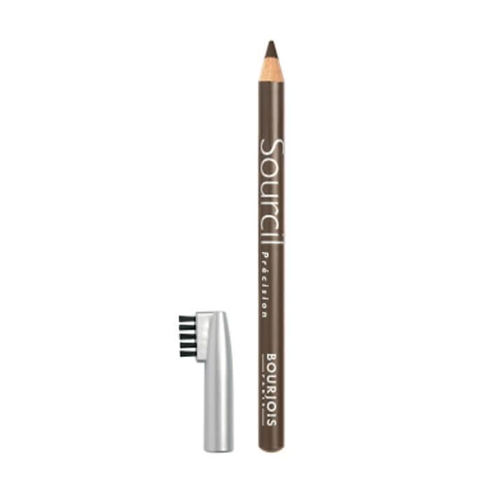 Купить Карандаш для бровей Bourjois Sourcil Precision Eyebrow Pencil #4 Blond Foncé | Блонд, Мягкий карандаш для бровей с щеточкой, Франция