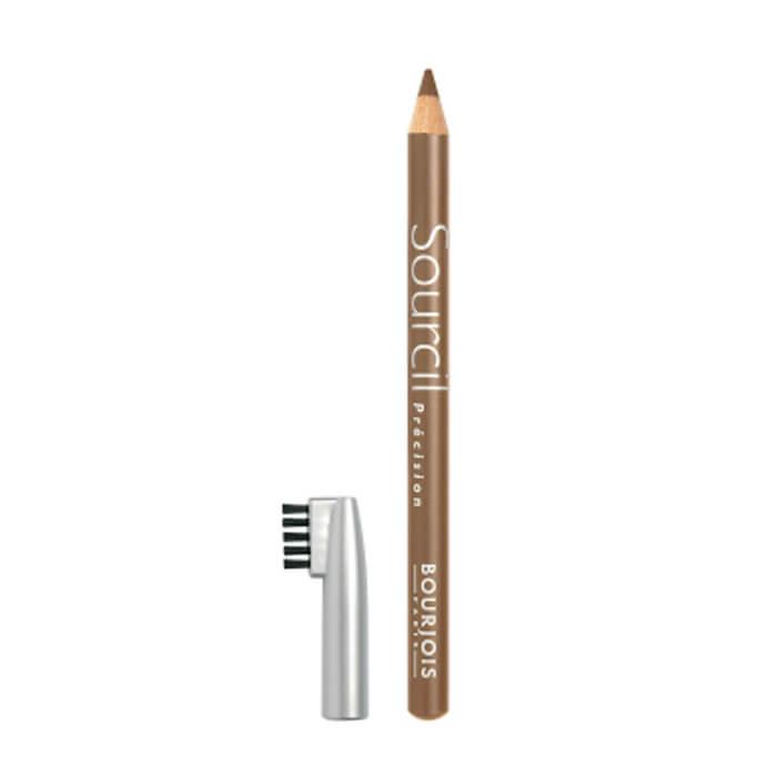 Купить Карандаш для бровей Bourjois Sourcil Precision Eyebrow Pencil #6 Blond Clair | Ясный блонд, Мягкий карандаш для бровей с щеточкой, Франция